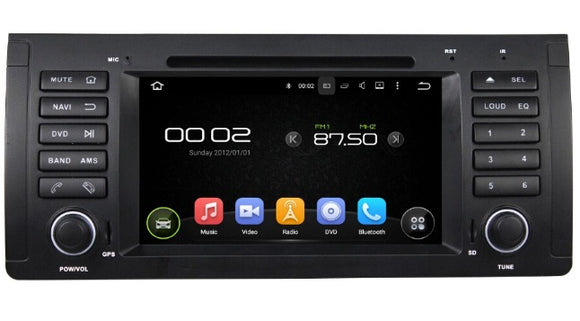 Android Car Multimedia System suitable to fit BMW X5 2002-2006