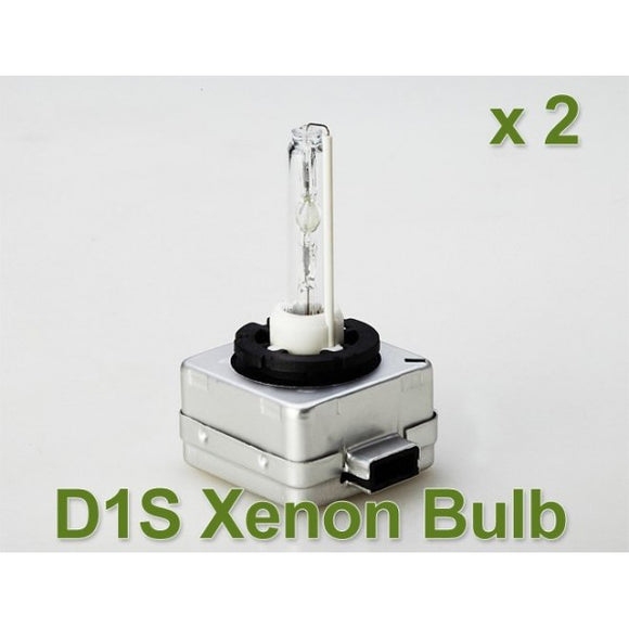 Xenon globes D1S set of 2 6000K