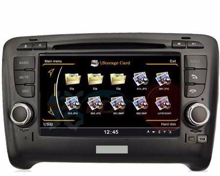 CAR DVD GPS FOR AUDI TT -2007-2012