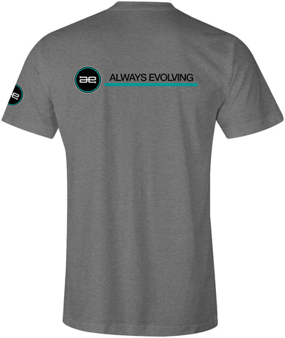 AE Team Logo Mens Shirt Grey