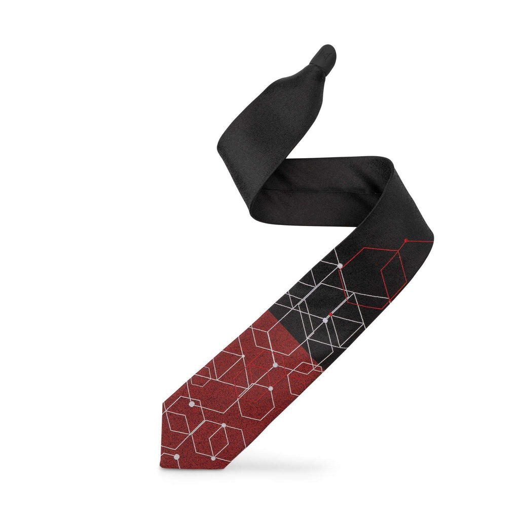 """KING OF HEARTS"" - 2 TIE 1 KNOT - set - ModernTie.com"