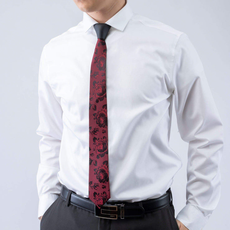 BLACK ROSE - 2 TIE 1 KNOT SET - ModernTie.com