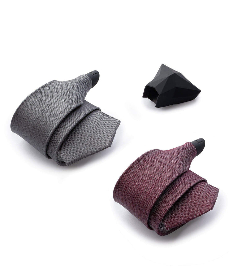 CHARCOAL MULBERRY - 2 TIE SET - ModernTie.com