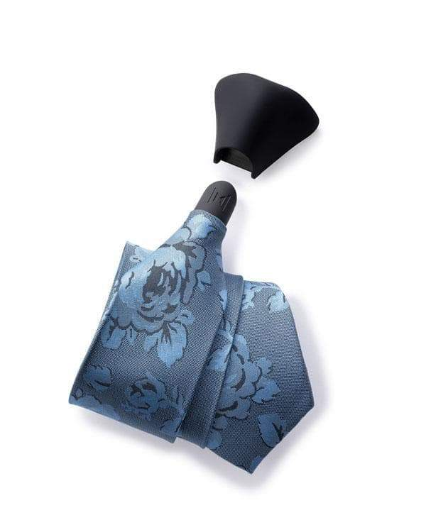 SMOOTH VIENNA - ROSE FLORAL TIE & KNOT SET - ModernTie.com
