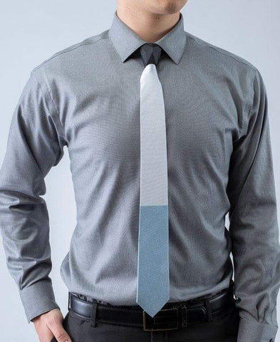 H2O - 2 Tone Striped Tipping Athletica - Tie - ModernTie.com