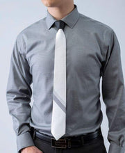 Nixon - 2 Tone Striped Tipping Athletica - Tie - ModernTie.com
