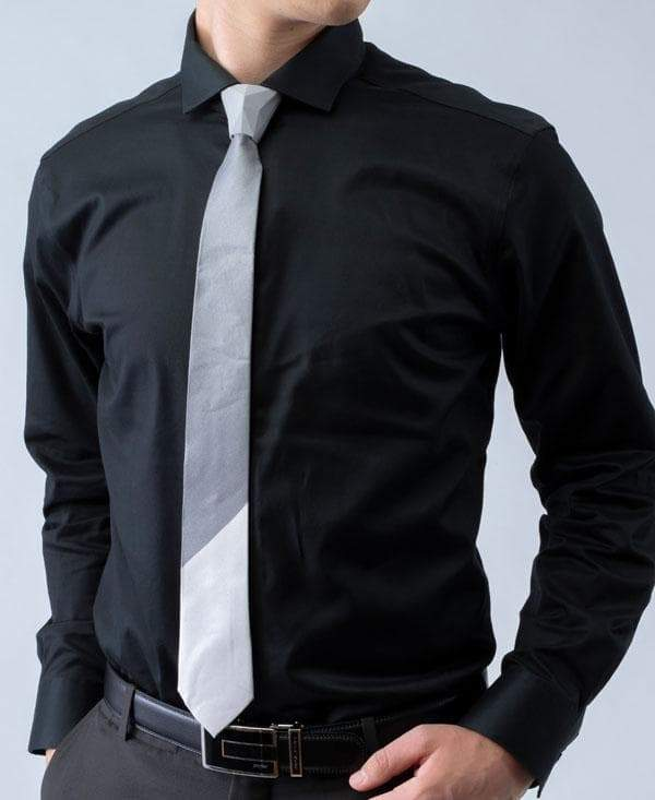 Tipton - 2 Tone Striped Tipping Athletica - Tie - ModernTie.com