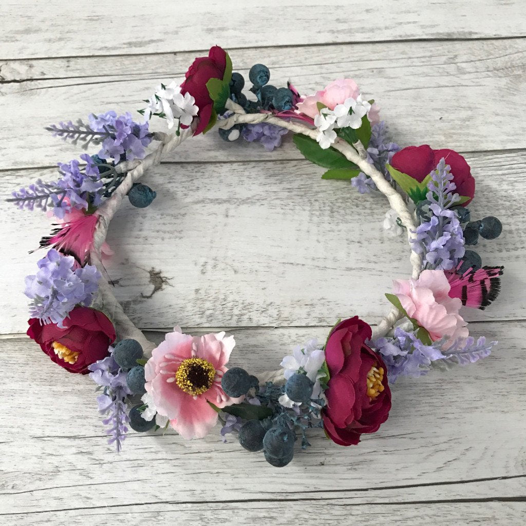 Diy Flower Crown Kit Diy Wedding Decorations