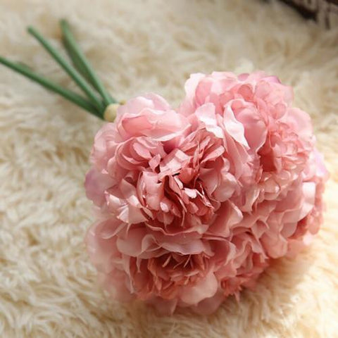 Artificial wedding bouquets australia tagged millinery supplies dusty pink carnation flower bouquet bunch junglespirit