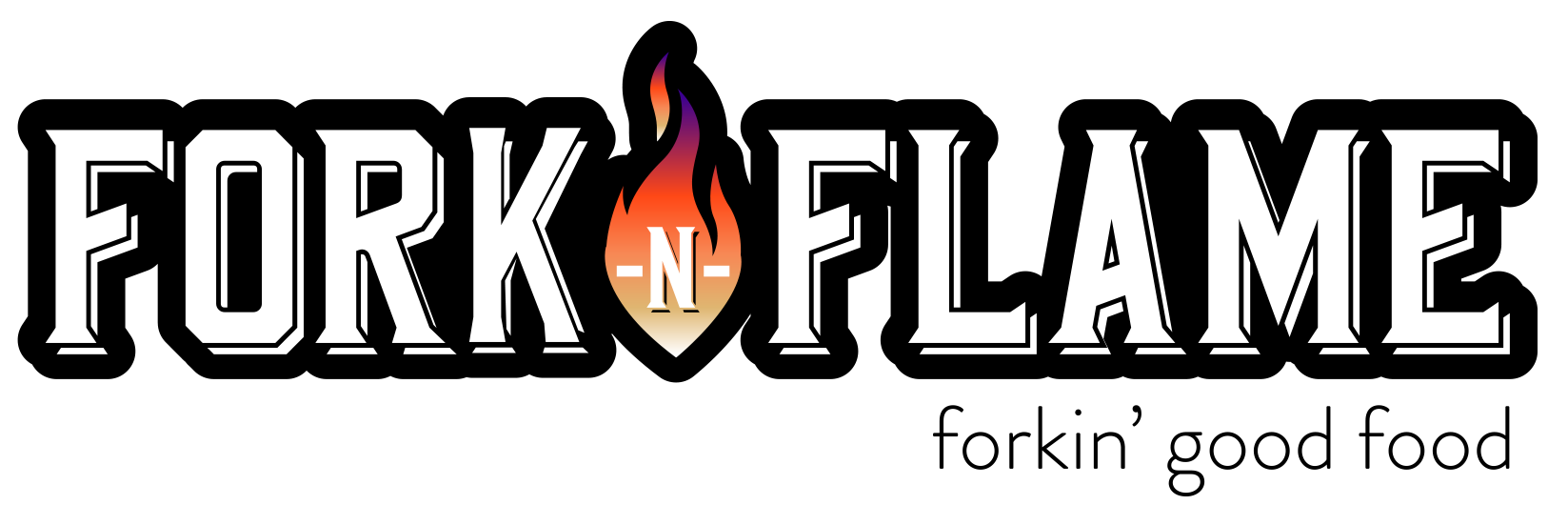Fork-N-Flame Logo Collaboration
