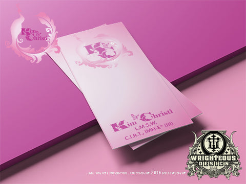 Kim Christi Brochure Design 2016