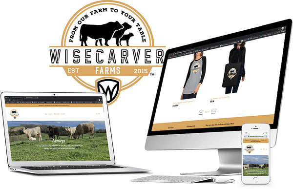 Wisecarver Farms Website Development and Product Development