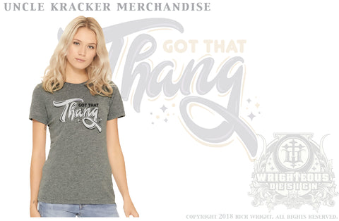 Uncle Kracker Got that Thang Design