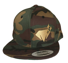 Richie Diamonds™ Camo Snapback Hat