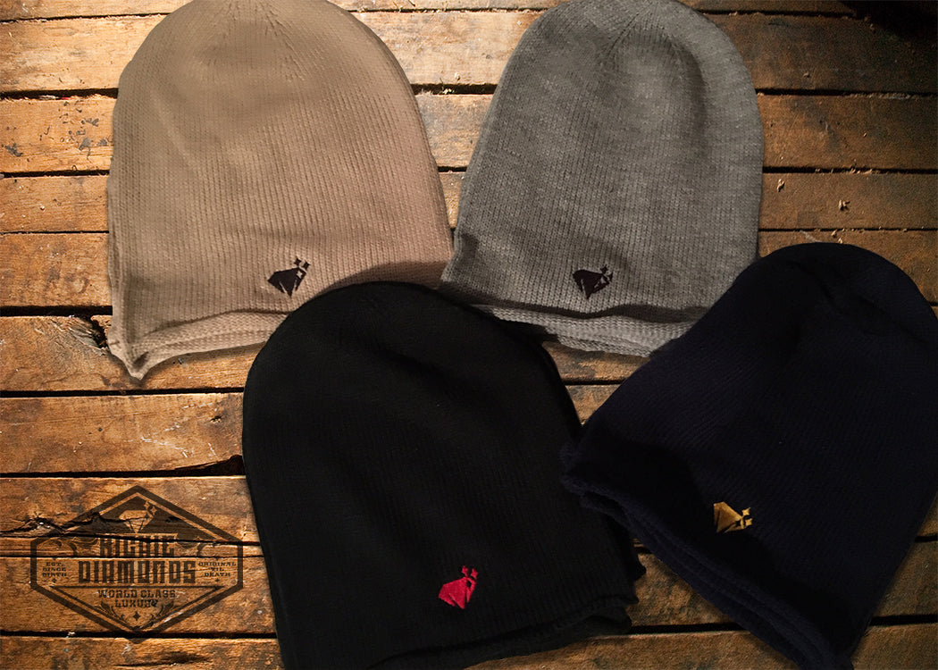 Richie Diamonds Slouch Beanie Hats