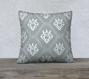 Purveyor Of Love Crowned Heart Pillow 22x22