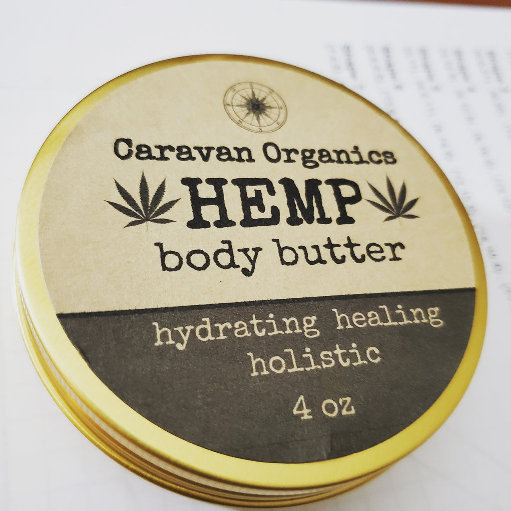 Hemp Butter  4 oz