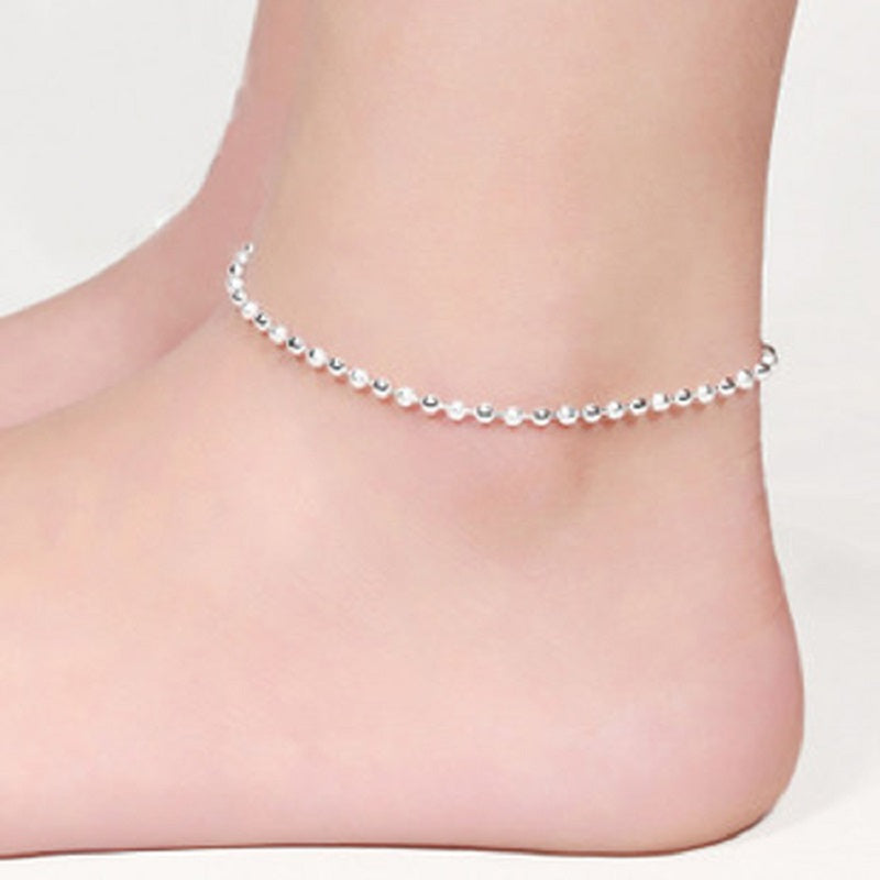 italy bracelet anklet sterling ca bracelets bling jewelry ankle silver singapore chain real dp amazon