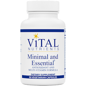 MINIMAL and ESSENTIAL MULTIVITAMIN