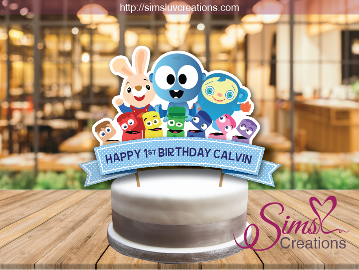 BABYFIRST TV CAKE TOPPER | CAKE CENTERPIECE | CAKE DECORATIONS