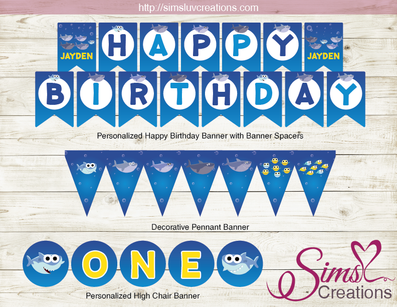 SUPER SIMPLE BABY SHARK PARTY SUPPLIES