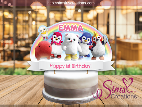 BADANAMU BIRTHDAY CAKE TOPPER | CAKE CENTERPIECE | CAKE DECORATIONS