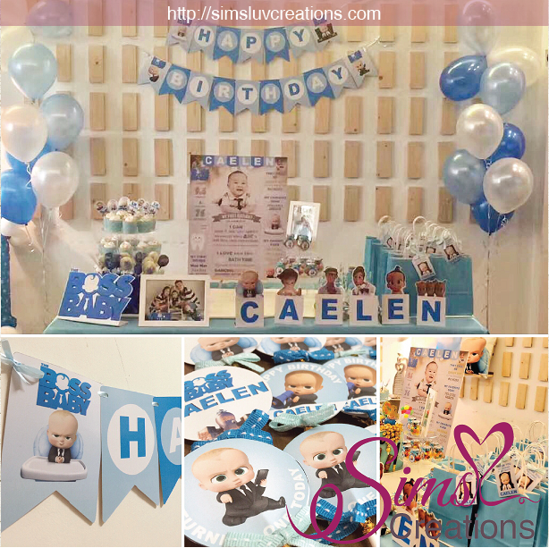 BOSS BABY PARTY PRINTABLES KIT