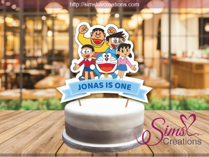 DORAEMON CAKE TOPPER | CAKE CENTERPIECE | CAKE DECORATIONS
