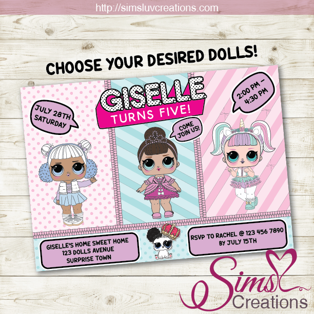 It is an image of Lol Dolls Printable in tags free