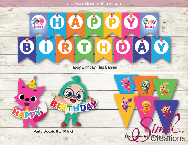 PINKFONG WONDERSTAR PARTY KIT | PINK FONG PARTY PRINTABLES