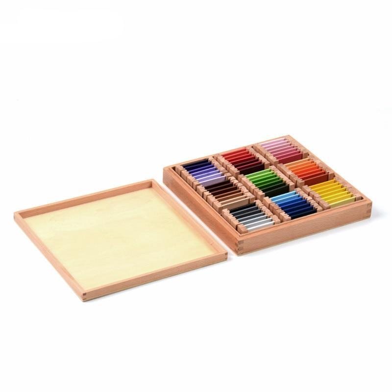 Montessori Wooden Color Tablet Box 3