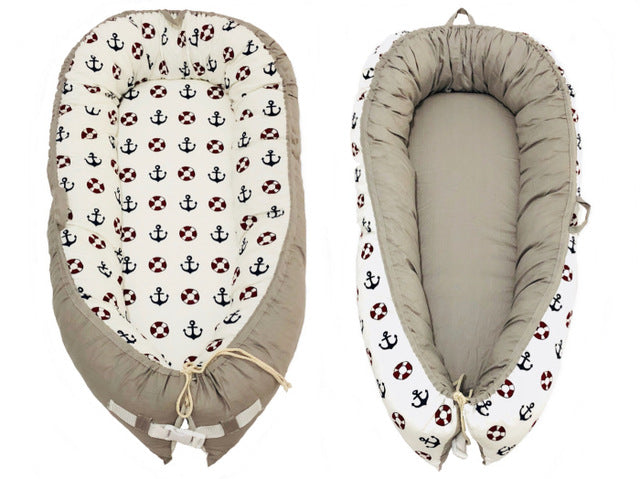 Multifunctional Portable Baby-Nest - Ship Anchor