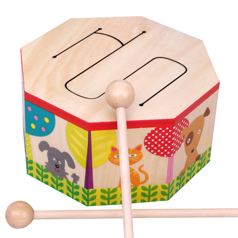 Baby Hand Beat Drum Children Early Education Toys