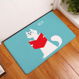 Educated Cat Cat-Mat