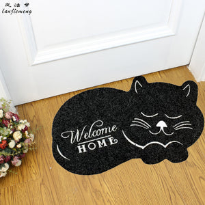 Welcome Home Sleeping Cat