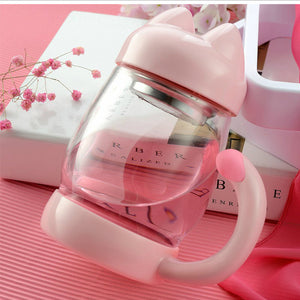 420ML Glass Filter Mug