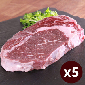 5x Ribeye Steak Extra Thick Grass-fed Set (300g)