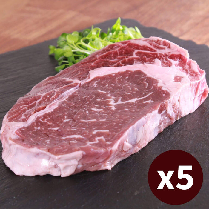 5x Ribeye Steak Extra Thick Grass-fed Set (1500g)  5枚セット リブアイステーキ (SKU107)