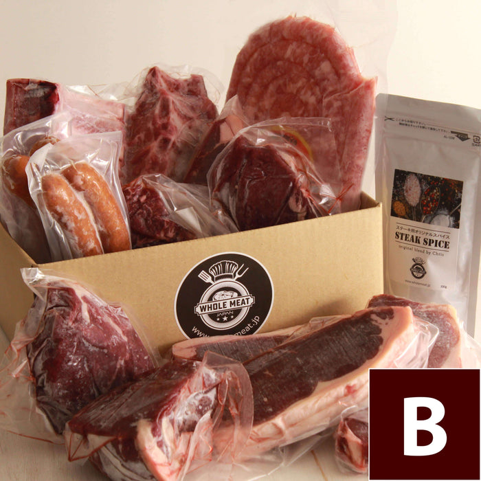 Steak and Sausage BBQ Value Set B (for 6-10 person) incl. free shipping