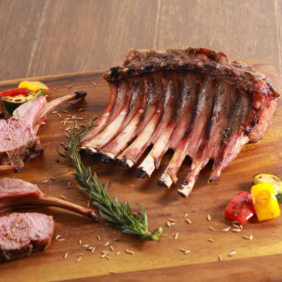 Lamb Frenched Rack (2 pcs) New Zealand - Buy now at Whole Meat Japan Online Shop