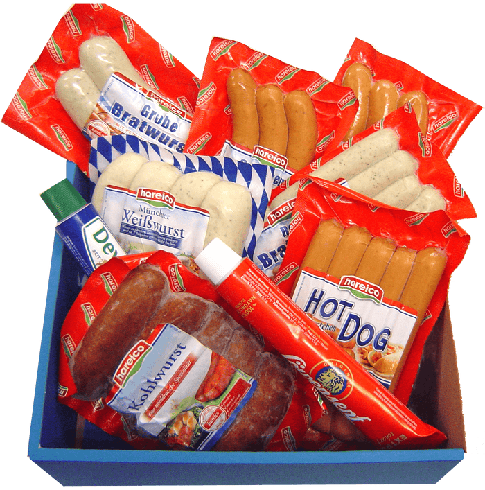 German Sausage Gift Set | Enough sausages for everyone ☻