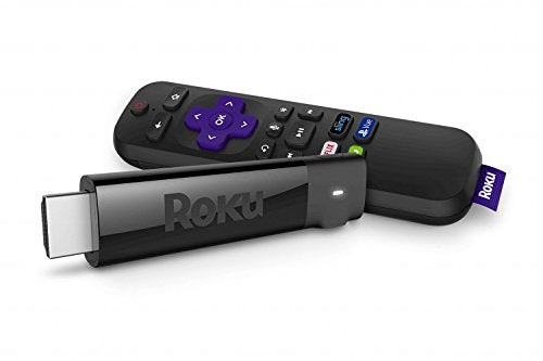 Roku Streaming Stick+ | 4K/HDR/HD streaming player with 4x the wireless range & voice remote with TV power and volume (2017) - Electronics - fnes