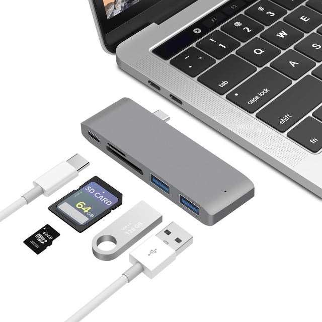 Thunderbolt 3 USB-C Hub for MacBook Pro - Accessories - fnes
