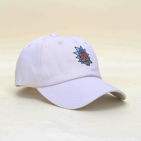 Rick and Morty Stoner Rick Dad Hat - Accessories - fnes