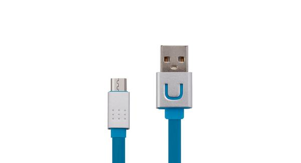 Cable MicroUSB For LG FLM-M05-MS Smile Metal 1M Azul
