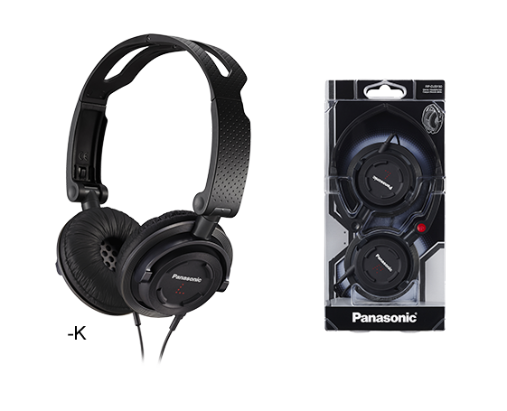 Audífonos on ear plegables RP-DJS150E-K Panasonic