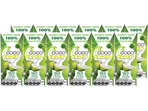 Coco Dream Agua De Coco 100% Natural 200ml / Pack De 12 Pzs