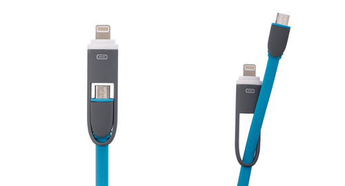 Cable for LG 2IN1-0508 Blue Plano 2 en 1 (5 & 8 Pines) Azul
