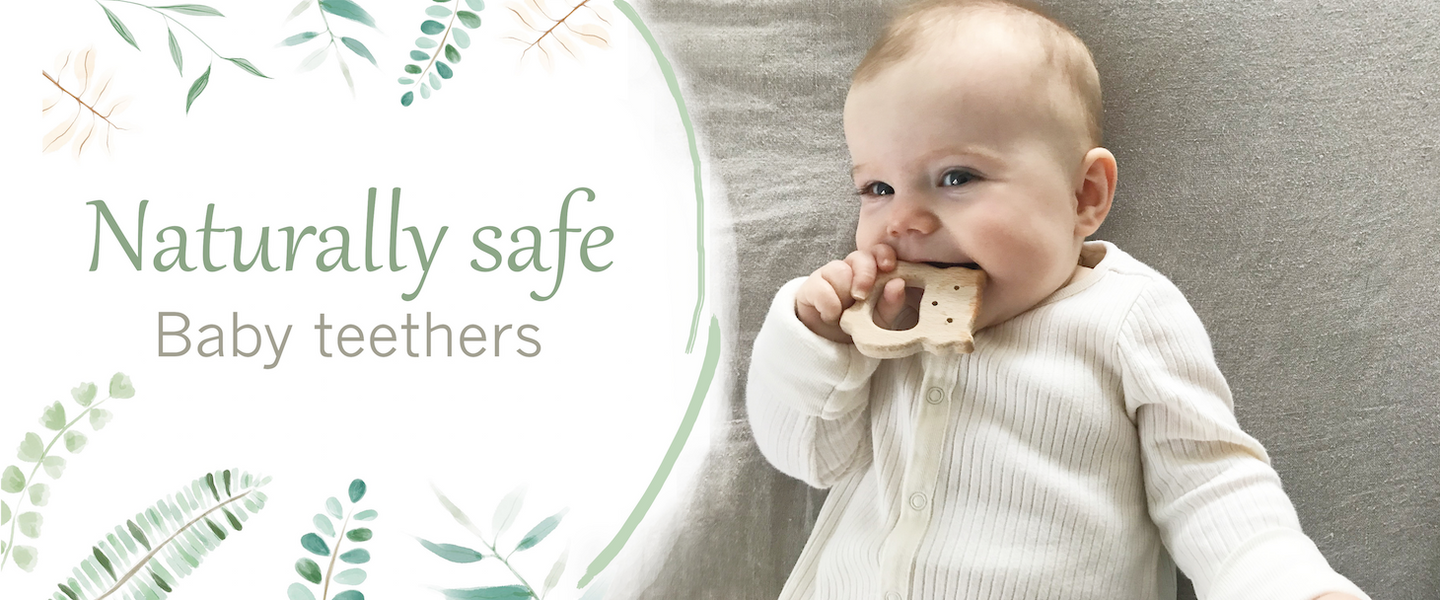 natural and safe baby teether