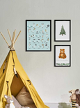 nursery art forest